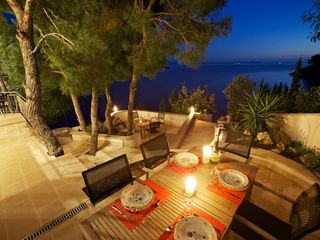 Milna villa photo - Outdoor dining