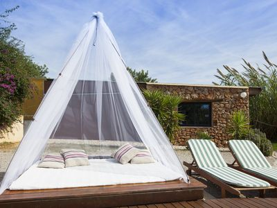 Sant Jordi villa rental - Chill out zone