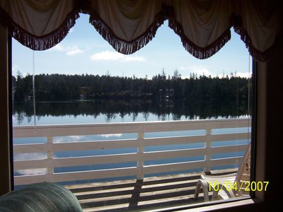 Florence house rental - View Of The Lake From The Upstairs Living Room