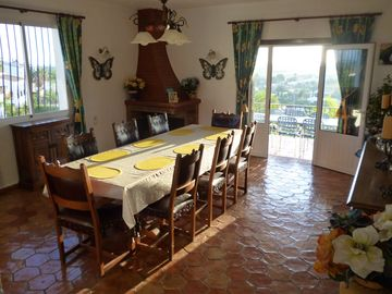 Dining Room leading to Balcony