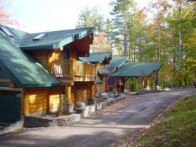 View of the front of the Lodge
