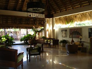 Cabarete condo photo - This sophiscated reception lobby welcomes you