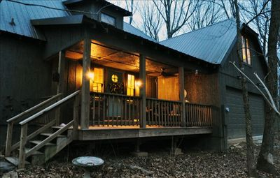 Greers Ferry Lake cabin rental