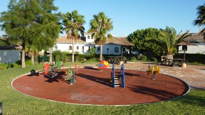 The Childrens Play Equipment in the Gardens