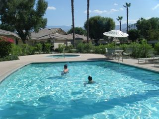 Monterey Country Club has many pools. This one is on Villena Way.
