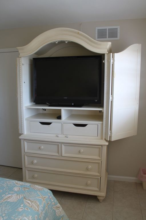 Bedroom Armoire with flat screen TV