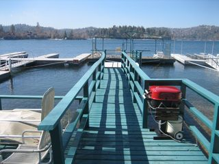 Lake Arrowhead house photo - Dock (right half)