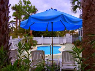 Seagrove Beach house photo - Tropical Oasis! Private 13x25 Pool (Heat Optional).
