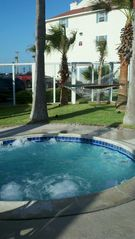 Corpus Christi condo photo - Hot tub