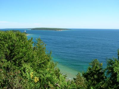 Harbor Springs chalet rental - The Straights of Mackinac nearby!