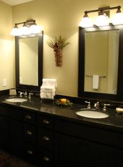 Hiawassee condo photo - Master Bath w/ Double Sinks
