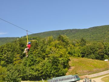 Zip Line at Stowe.