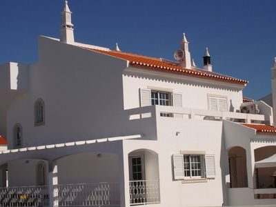 Monte Gordo villa rental - A view of the villa