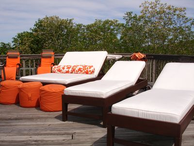 Enjoy our private roof deck - 800 sq ft of outdoor space just for you. A+ views
