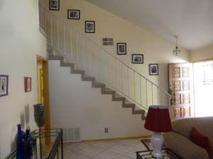 Palm Springs condo photo - Stairway w/ glamour photos of movie stars from the '40s and '50s.