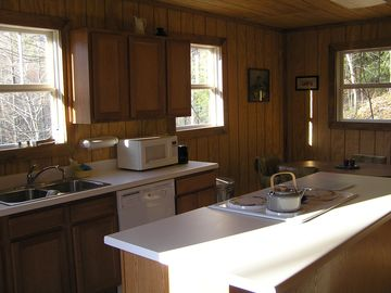 Trout Stream House kitchen