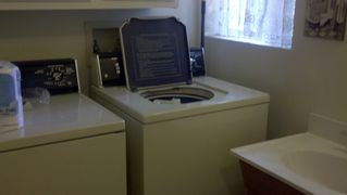 Flagstaff cabin photo - Full size washer and dryer