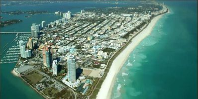 South Beach Aerial View