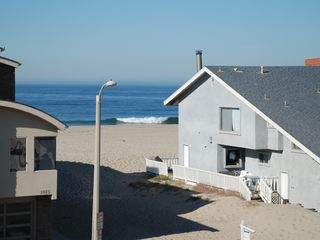 Oxnard house photo - View of the beach and ocean from the roof top deck.