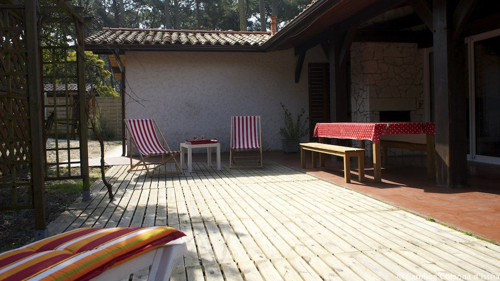 Comfortable Villa With Garden Planted Homeaway Medoc