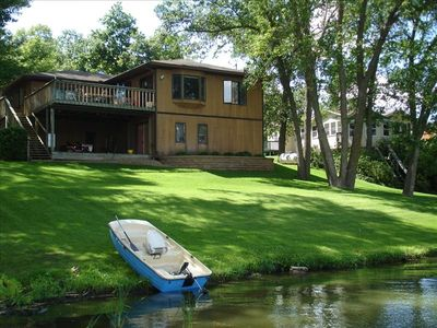 House from the lake (boat not included)