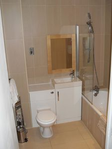 Bathroom with underfloor heating