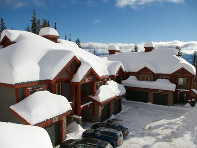 Snowbanks Townhomes, Big White, BC - Snowbanks Townhomes