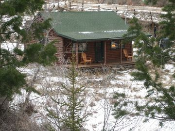 View of the Cabin