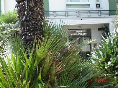 Promenade des Anglais apartment rental - Entrance to building