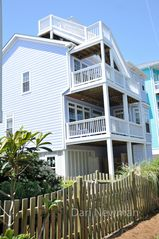 Carolina Beach house photo - Each Deck ocean views.