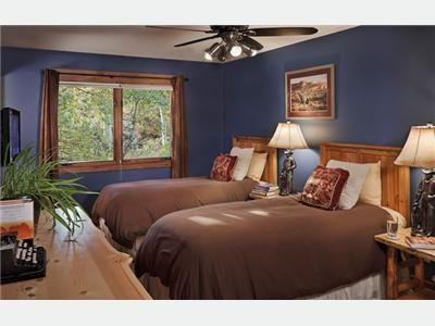 Steamboat Springs house rental - King or 2 Twins