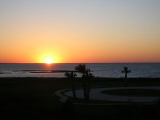 Galveston condo photo - Sunsets every evening