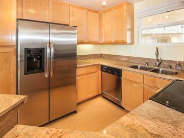 All New Granite Countertops, and new Stainless Steel Appliances