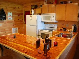 Helen cabin photo - Lower level kitchen