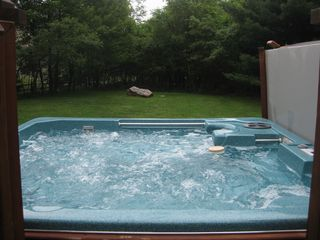 Towamensing Trails house photo - Hot tub running all year round (summer view)