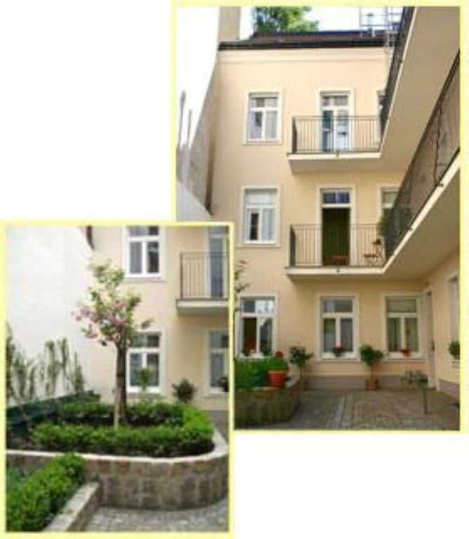 Studio Apartments Vienna center with garage in the building, balcony, central location