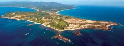 Punta de Mita from the Air