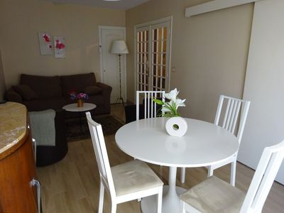 2 rooms, air-conditioned, close to the old Antibes, the beach of Ponteil, ideal