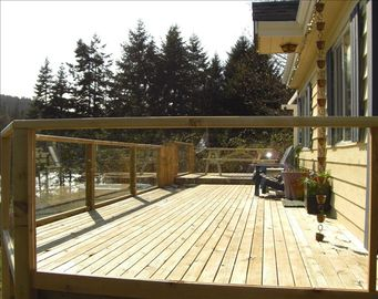 The Deck, close up view