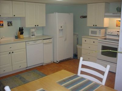 First Floor Fully equipped kitchen with Washer & Dryer