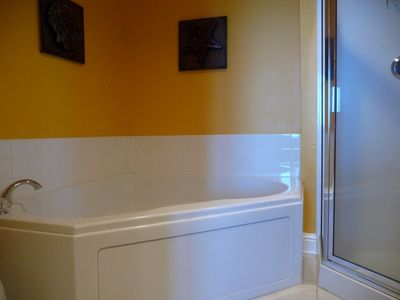 Large Jacuzzi Tub in Master Bath
