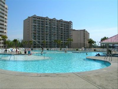Famous because it is the largest pool in South Carolina