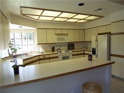 Spacious Well-Equipped Kitchen