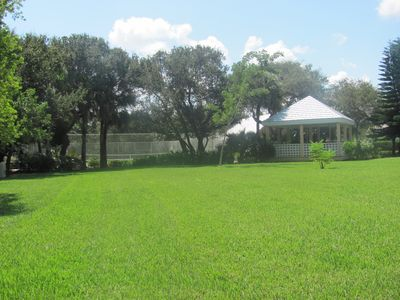 Tennis courts and Gazebo