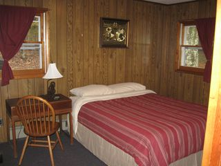 Margaretville cabin photo - Comfy first bedroom