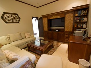 Playa Hermosa villa photo - TV area