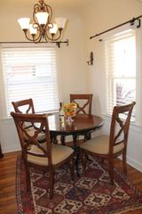 Tucson bungalow photo - Charming and cozy dining room seats four at the table