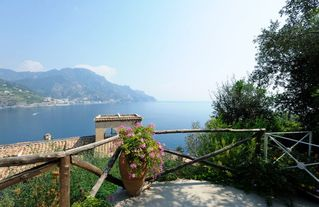 Amalfi villa photo - seaview from the terrace House Oliver