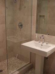 Astoria house photo - Both bathrooms were remodeled with high-end fixtures, tile and warm floors