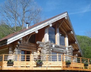 New log cabin for 11 persons in La Bresse